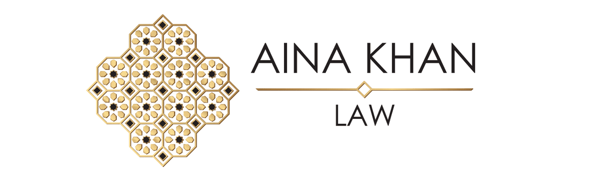 Aina Khan Law Logo